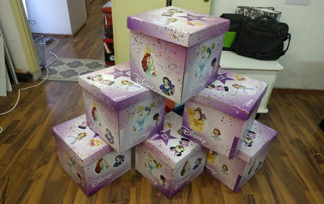 קופסאות לדיסני