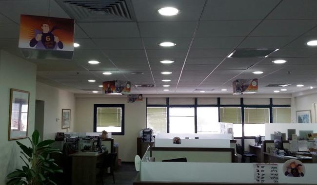 קישוט משרדי מנורה